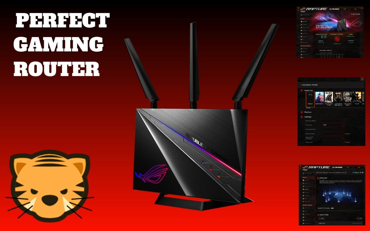 Perfect Gaming Router - ASUS GT-AC2900