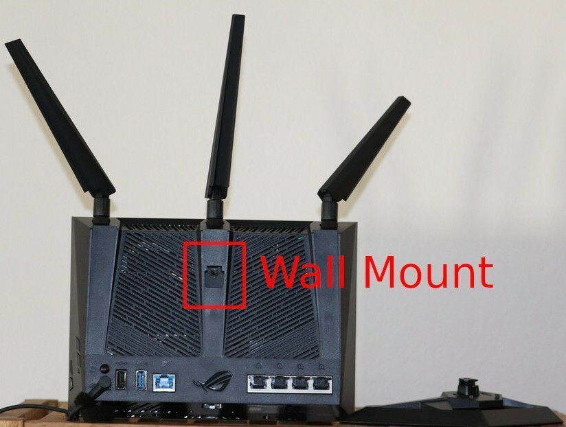 Router Wall Mount