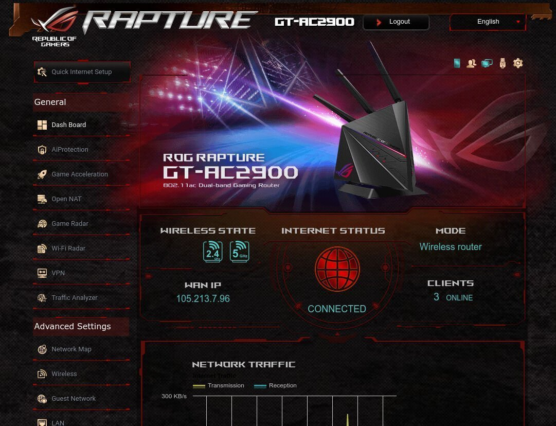 ASUS ROG Router - Software