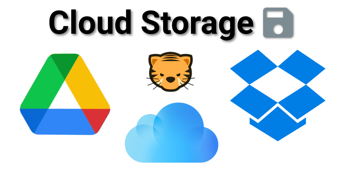 Clearing The Digital Clutter - Cloud Storage Compared (Dropbox, GDrive & iCloud)