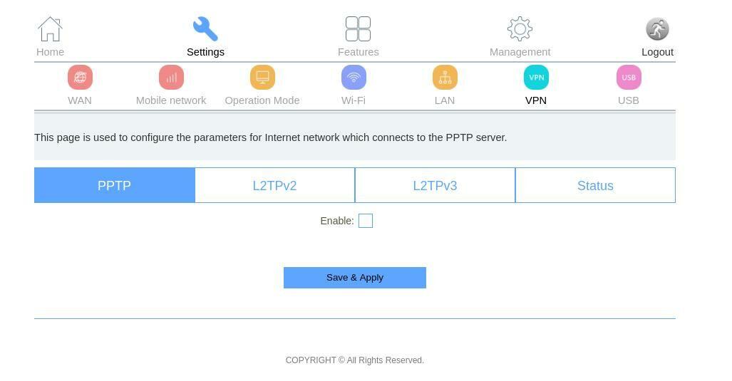 DLink DWR-M961 VPN Setup For Streaming