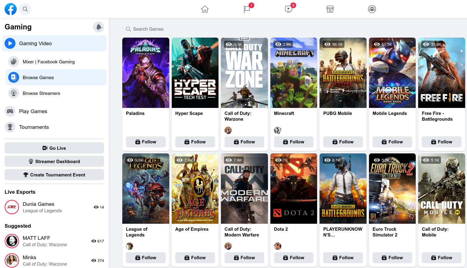 Getting To Grips With Facebook Gaming