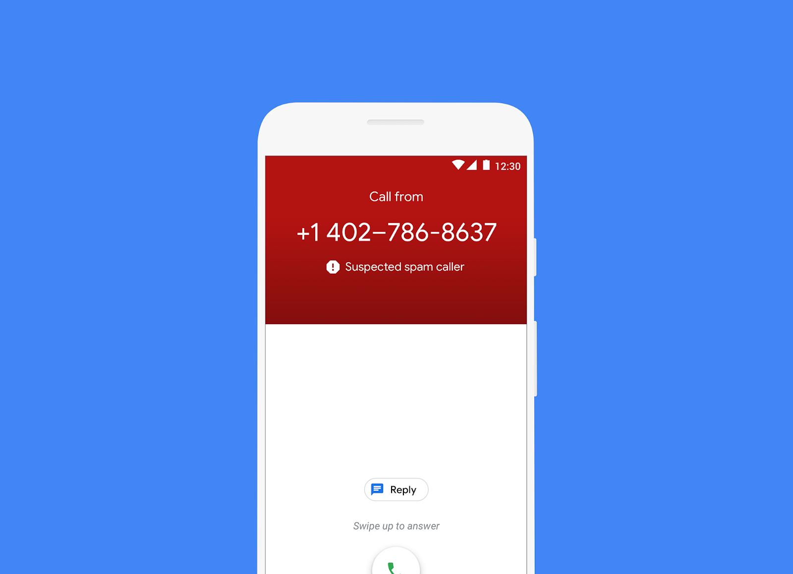 Google Spam Caller ID
