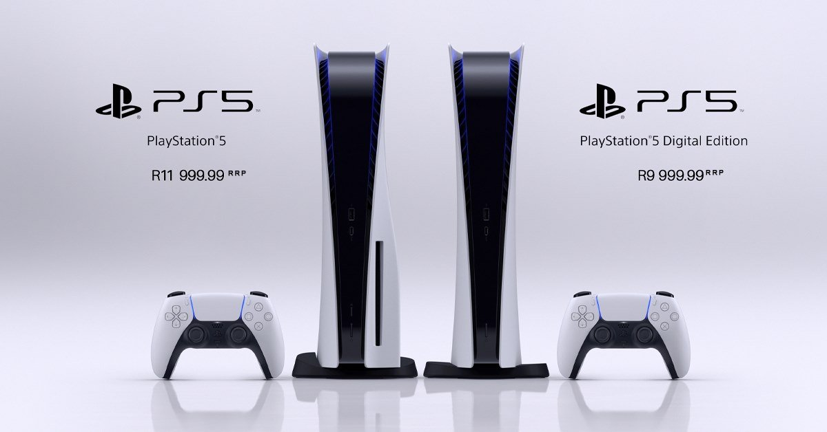 PlayStation 5 - Pre Order Pricing In South Africa