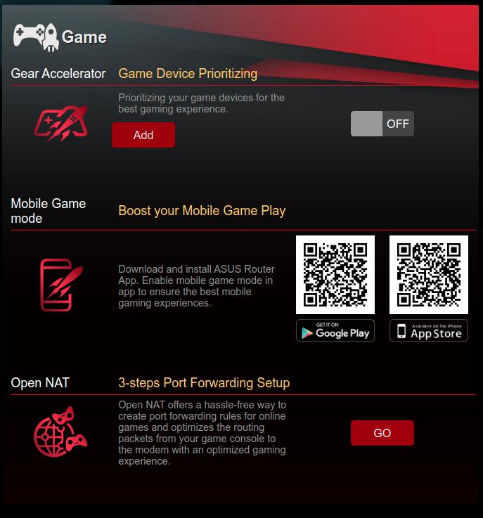 Asus RT-AX86U Gaming
