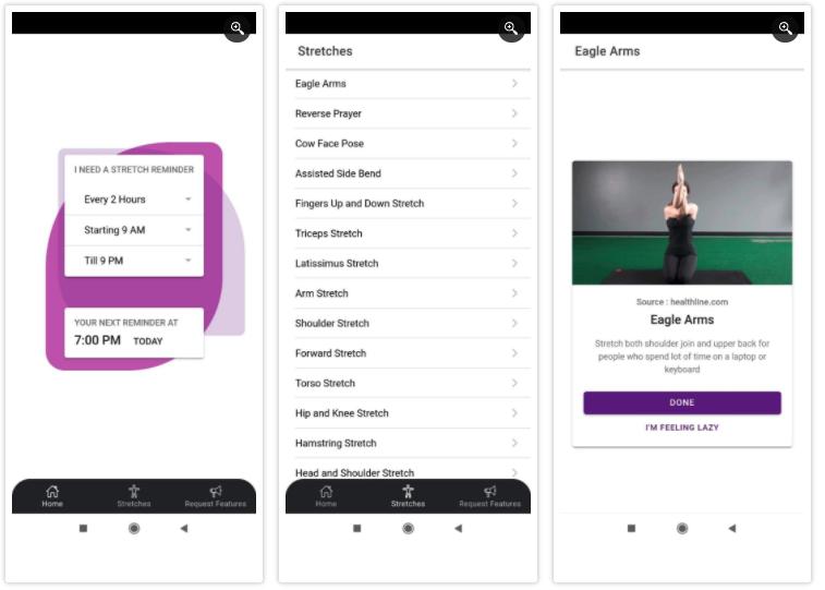 Stretch Reminder App