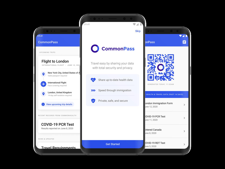 CommonPass Travel App
