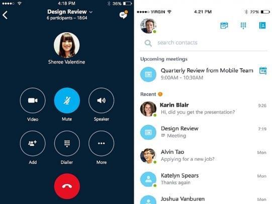 skype connect app - voip